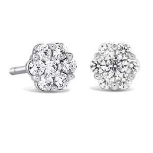Brown & Newirth Bella Diamond Cluster Earrings, 0.50ct