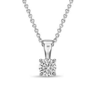 18ct Diamond Solitaire Pendant
