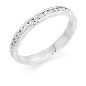 9ct Diamond Half Eterntity Ring, HET8603