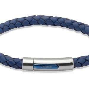Unique and Co Blue Leather Bracelet
