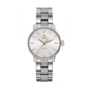 Rado Coupole Classic, Stainless Steel & Rose Accents, Automatic Watch: R22.862.02.3