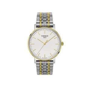 Tissot Everytime Bi-Colour Bracelet Watch: T109.410.22.031.00