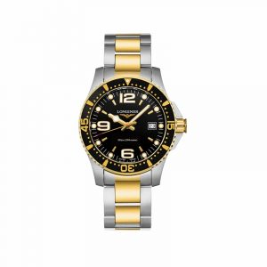 Longines Hydro Conquest Stainless Steel Gold PVD