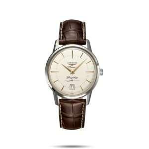 Longines Flagship Heritage, Leather : L4.795.4.78.2v