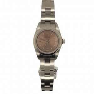 Pre-Owned Rolex Ladies Oyster Perpetual Steel (76094) : 1250244
