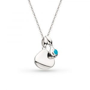 Kit Heath Coast December Birthstone Tag Necklace, Engravable : 9102TQ