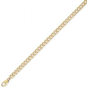 9ct Hallmarked Yellow Gold Curb Chain