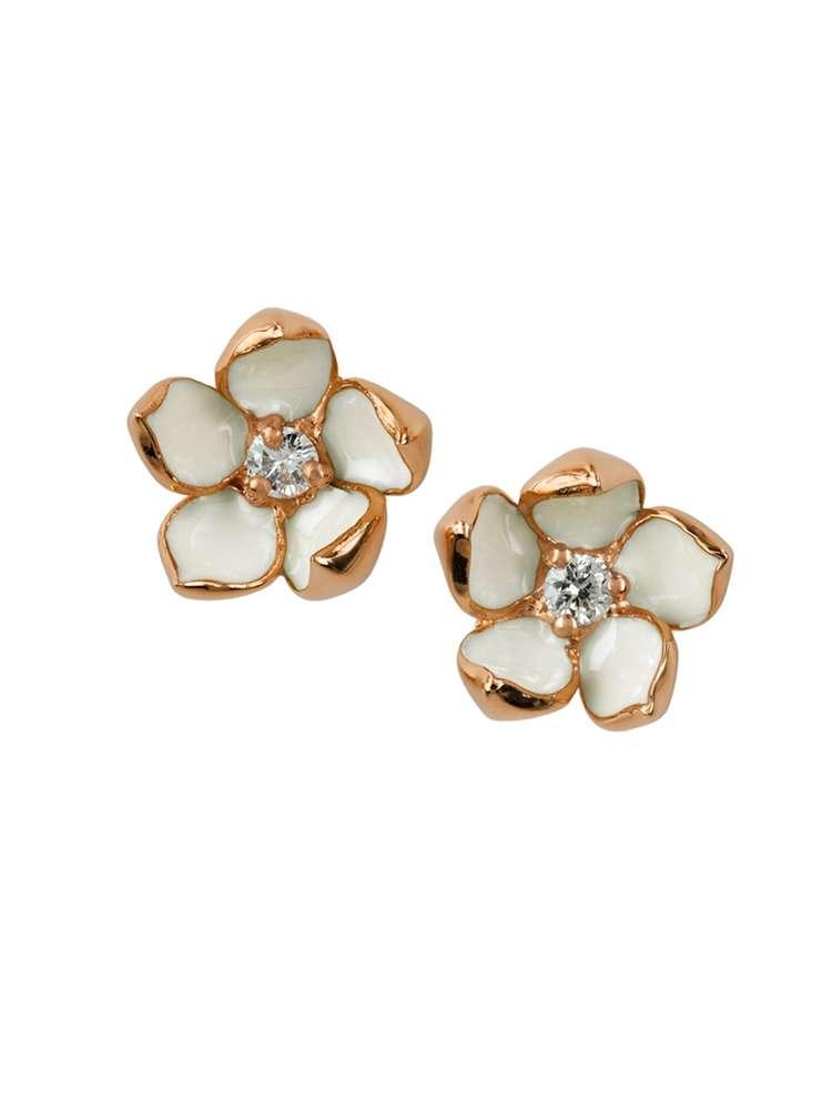 Shaun Leane Cherry Blossom Stud Earrings : CB013.RVWHEOS