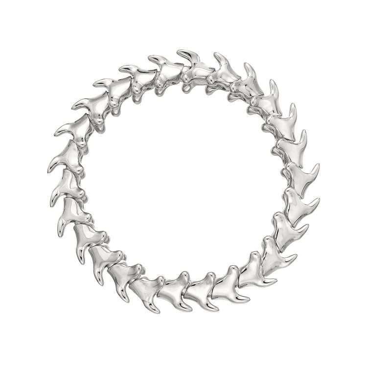 Shaun Leane Serpents Trace Silver Wide Bracelet : ST014.SSNABZL