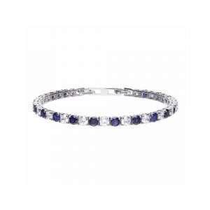 Diamonfire Tennis Bracelet, Blue Sapphire : B5087