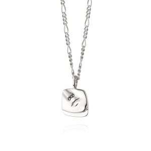 Daisy Alexa Necklace, Silver: AN02_SLV