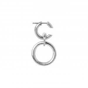 Maria Black Dogma Earring, Silver : 100458