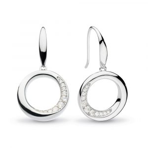 Kit Heath Bevel Cirque CZ Drop Earrings: 5152CZ