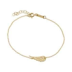 9ct Angel Wing Bracelet : 1811304