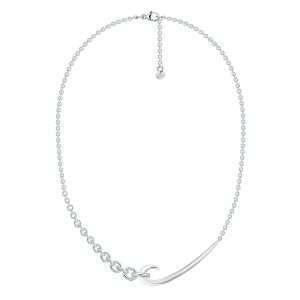 Shaun Leane Silver Hook Chain Choker Pendant : HT025.SSNANOS