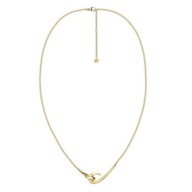 Shaun Leane Yellow Gold Vermeil Hook Pendant : HT026.YNNANOS