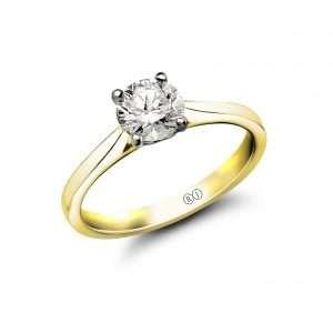 Rivoli Love Collection Diamond Solitaire Ring
