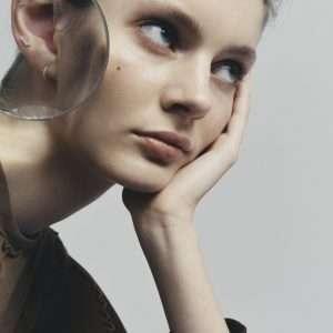 Maria Black Diamond Volant Labret : S1MM22Y