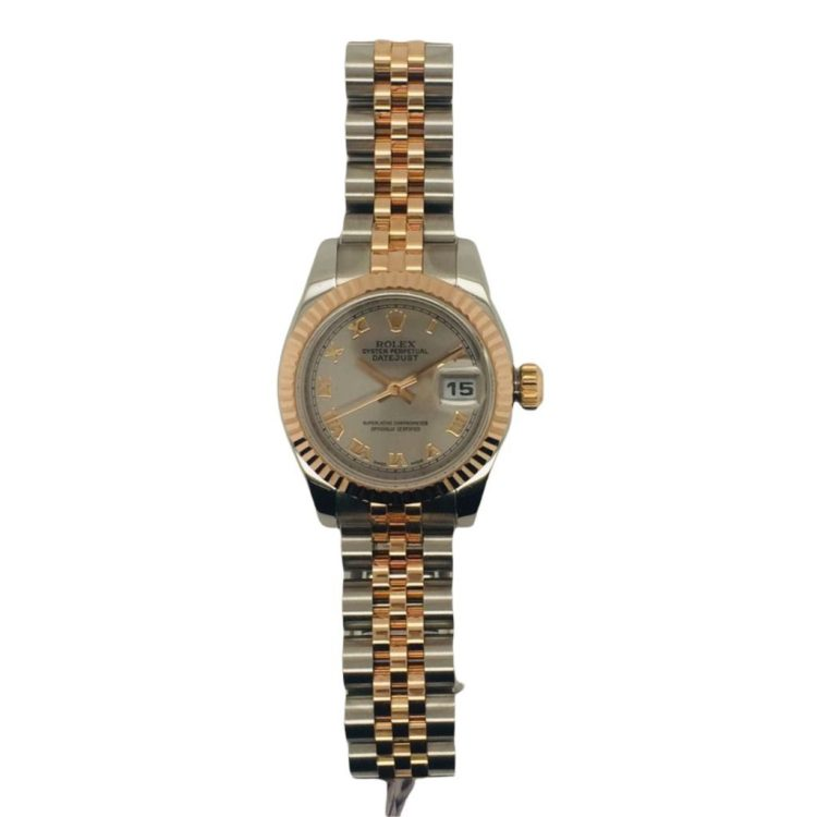 Pre-Owned Rolex Lady Datejust Rose Gold (179171) : 1250232