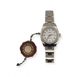 Pre-Owned Rolex Ladies Oyster Perpetual Steel (176234) : 1250238