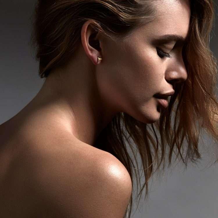 Shaun Leane Rose Thorn Earrings, Yellow Gold : RT010.YVNAEOS