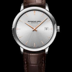 Raymond Weil Toccata Leather Watch: 5485-SL5-65001