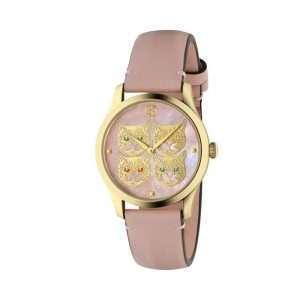 Gucci G-Timeless Pink Cats Watch: YA1264132